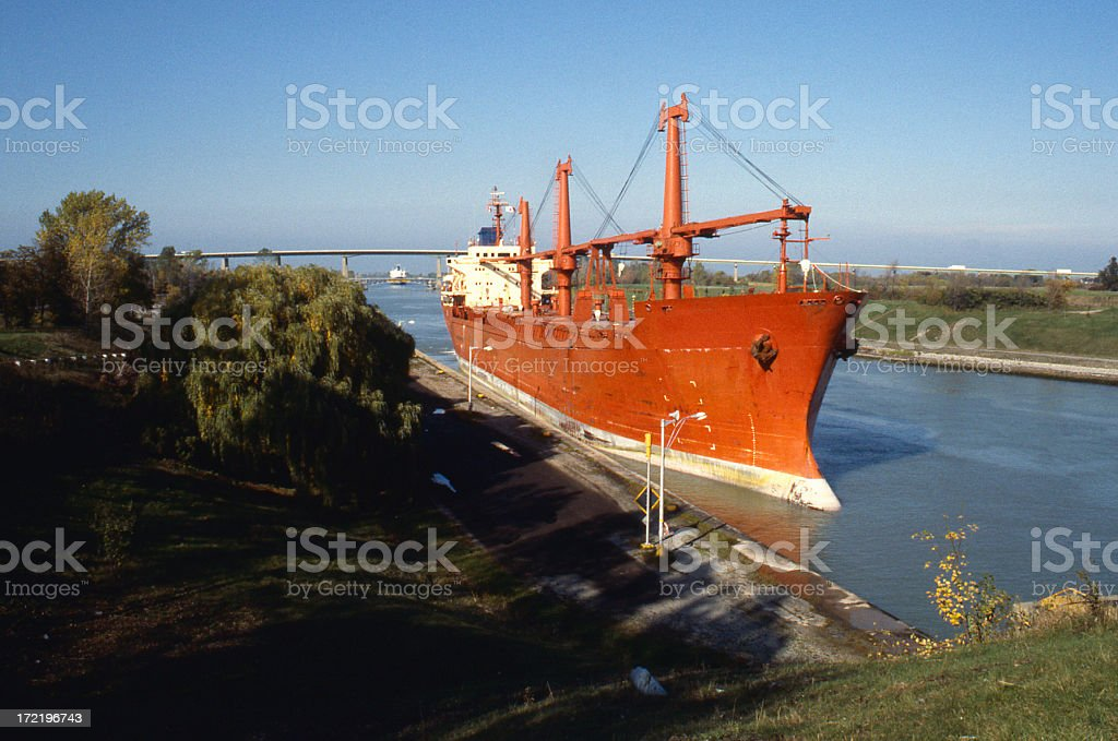 Welland Canal royalty-free stock photo