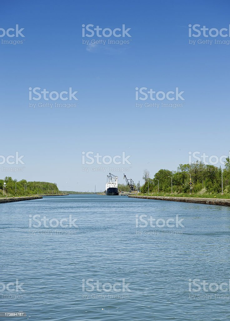 Welland Canal stock photo