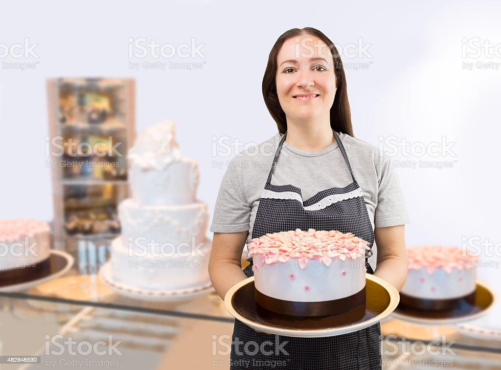 wellcome to my patisserie stock photo