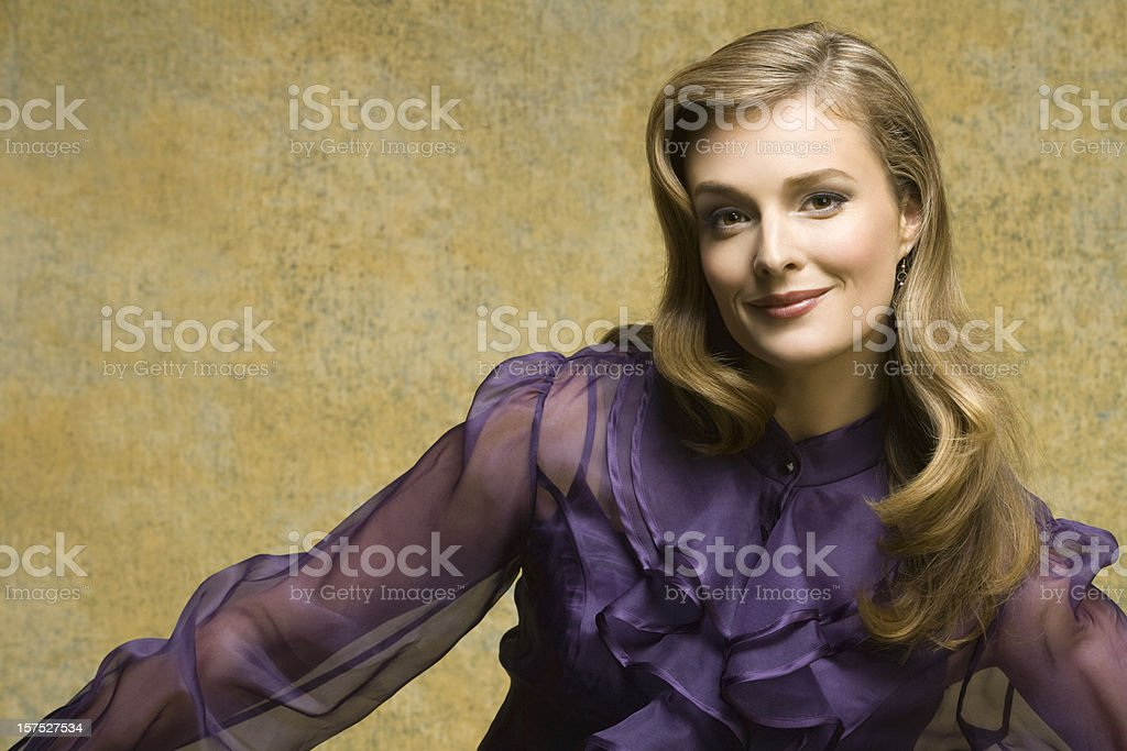 Well-Dressed Fashion Beauty royalty-free stock photo