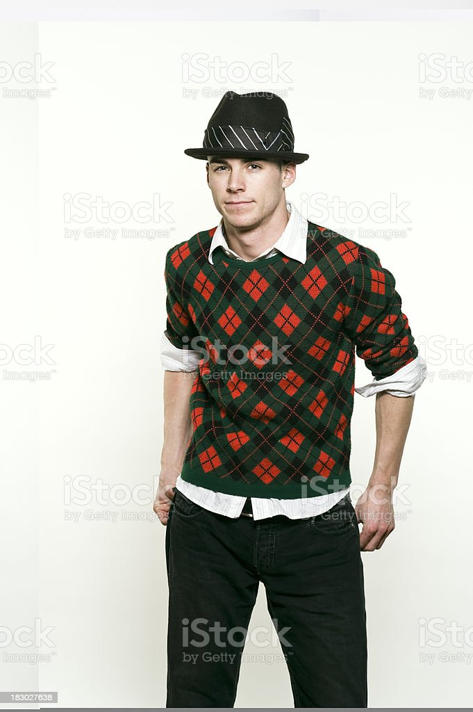 Well-Dressed Young Man royalty-free stock photo