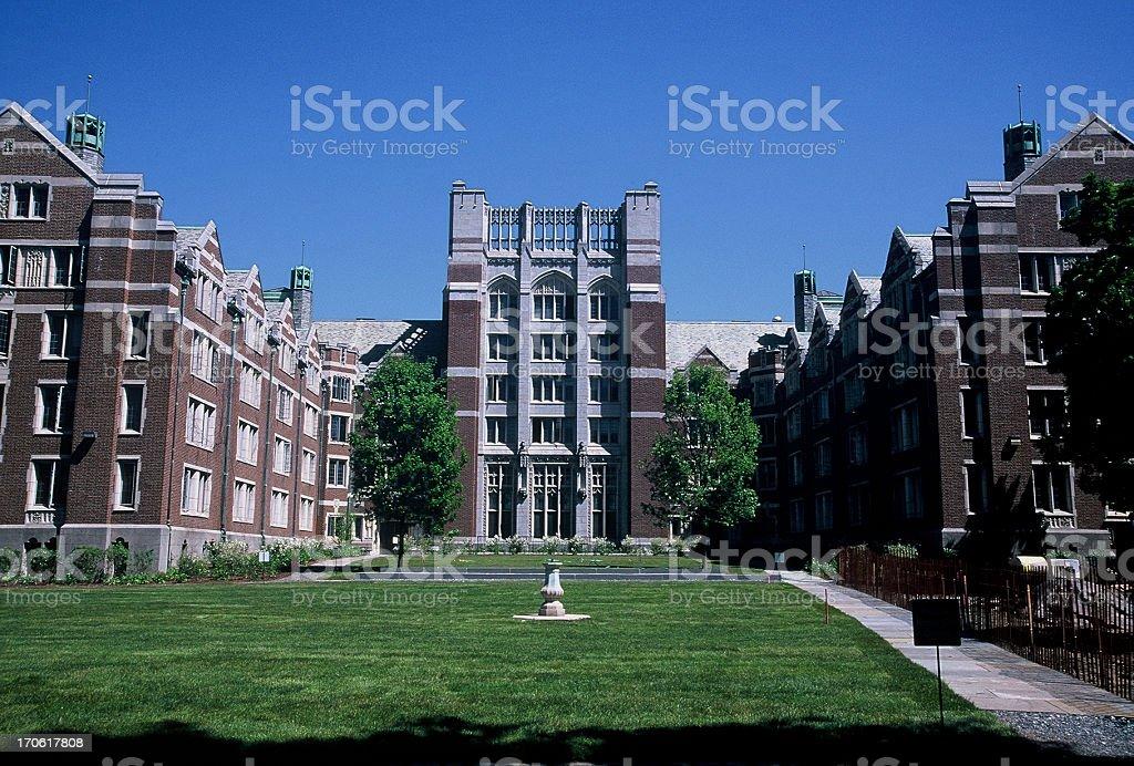 Wellesley College Dormitory stock photo