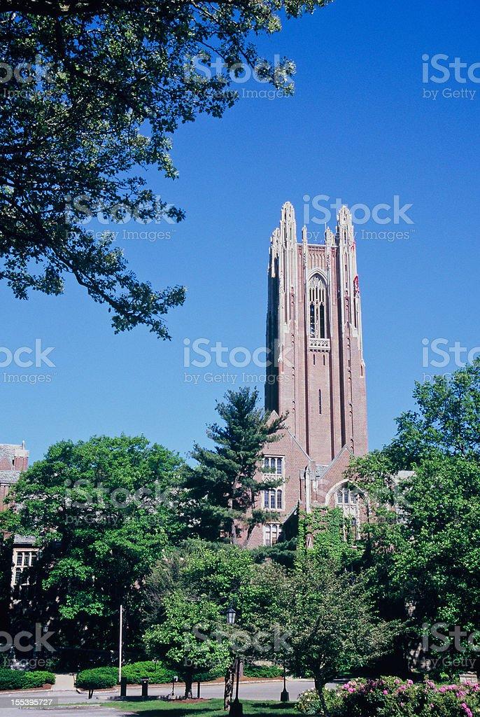 Wellesley College stock photo