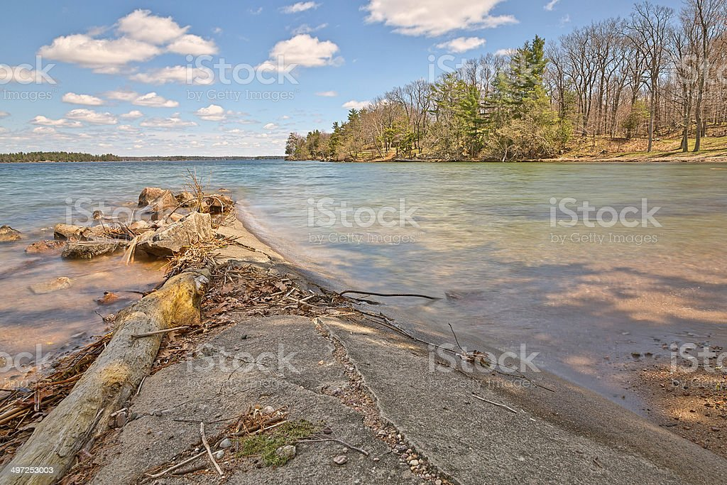 Wellesley Island State Park - HDR stock photo