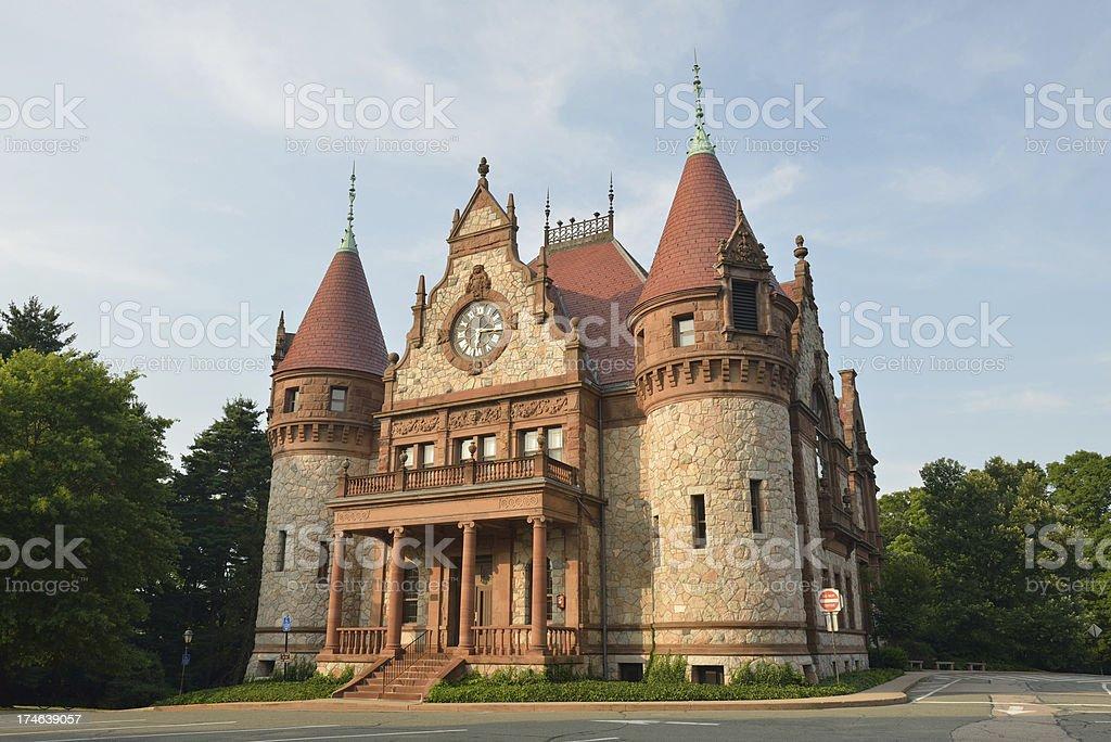 Wellesley Town Hall stock photo