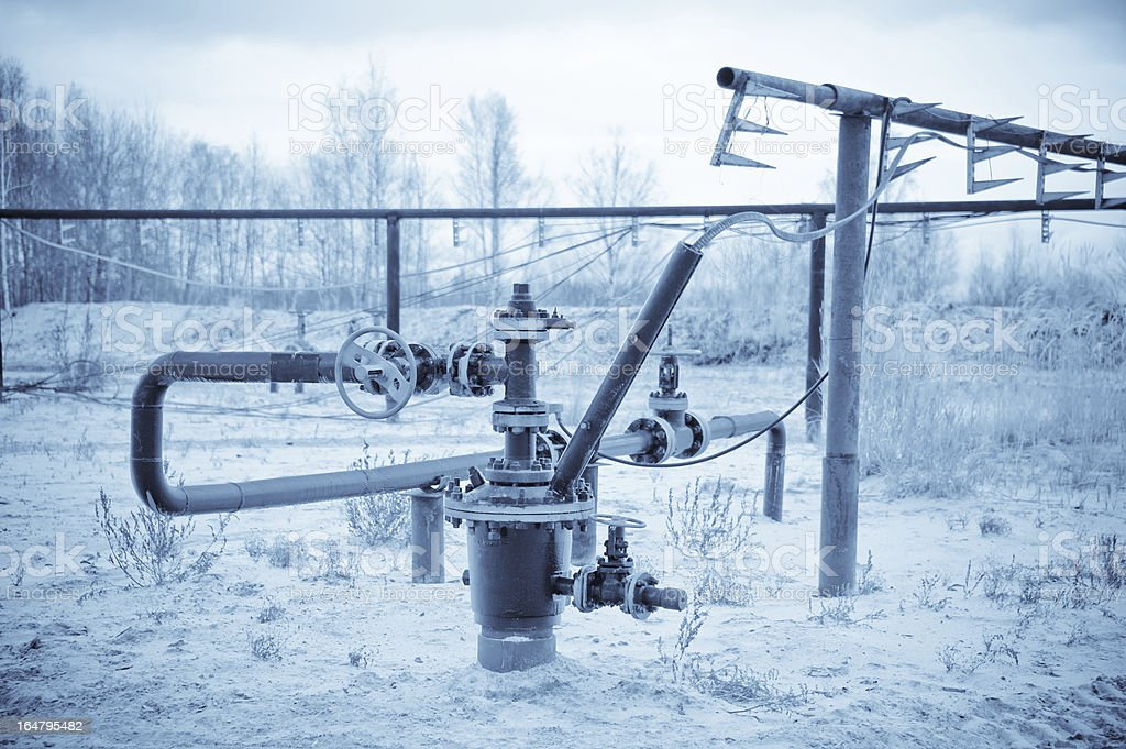 Wellhead. royalty-free stock photo