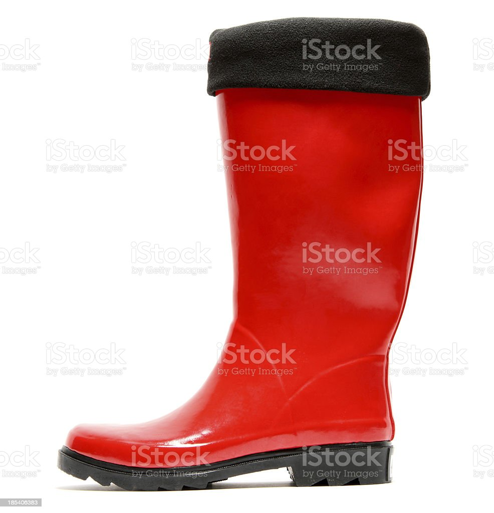 wellington boot stock photo