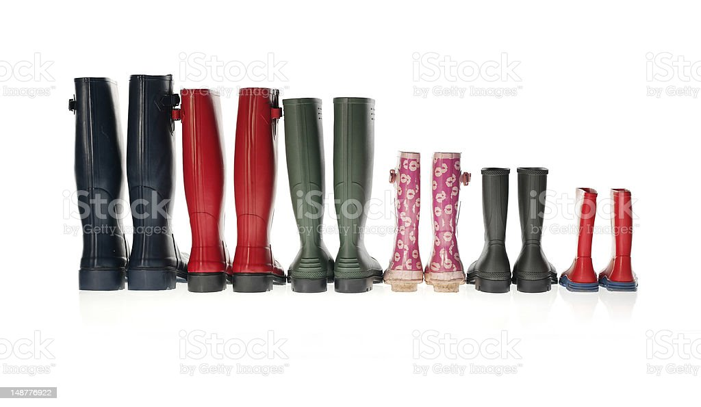 Wellington Boots stock photo