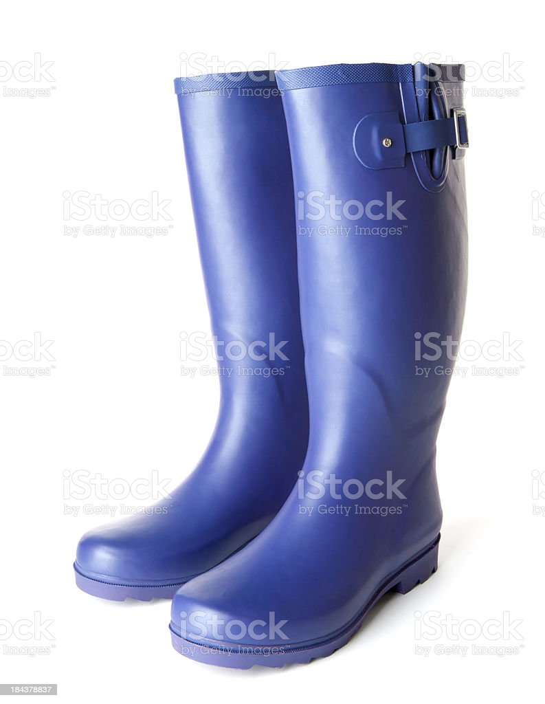 wellington boots royalty-free stock photo