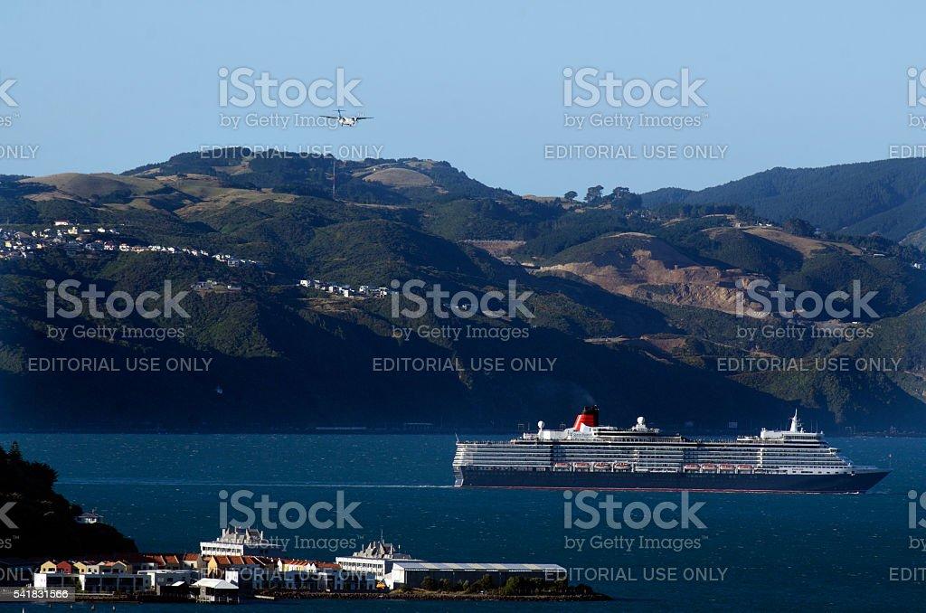 Wellington International Transportation stock photo