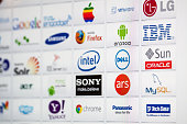 Well-Known Information Technology Brand Logotypes mix