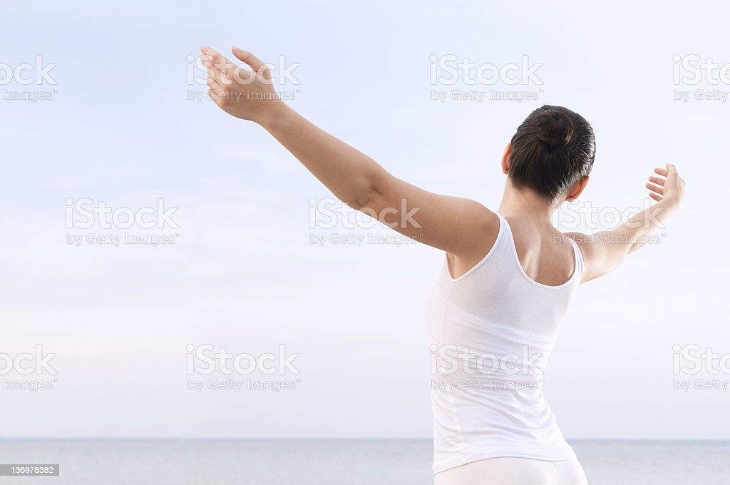 Wellness and carefree royalty-free stock photo