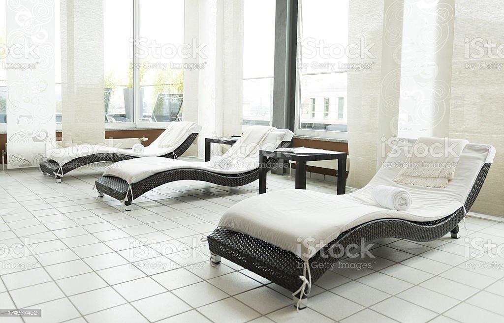 wellness area royalty-free stock photo
