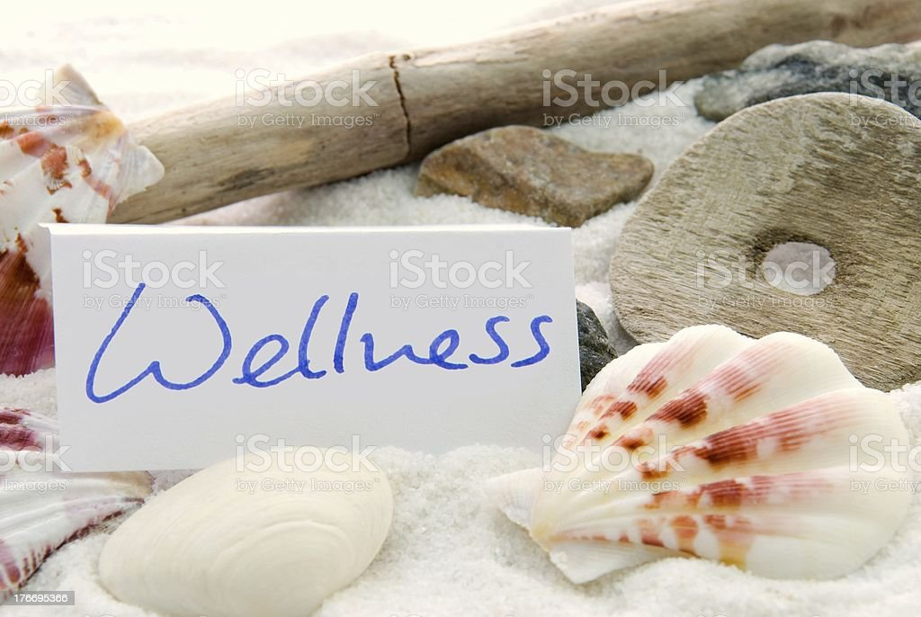 Wellness background royalty-free stock photo