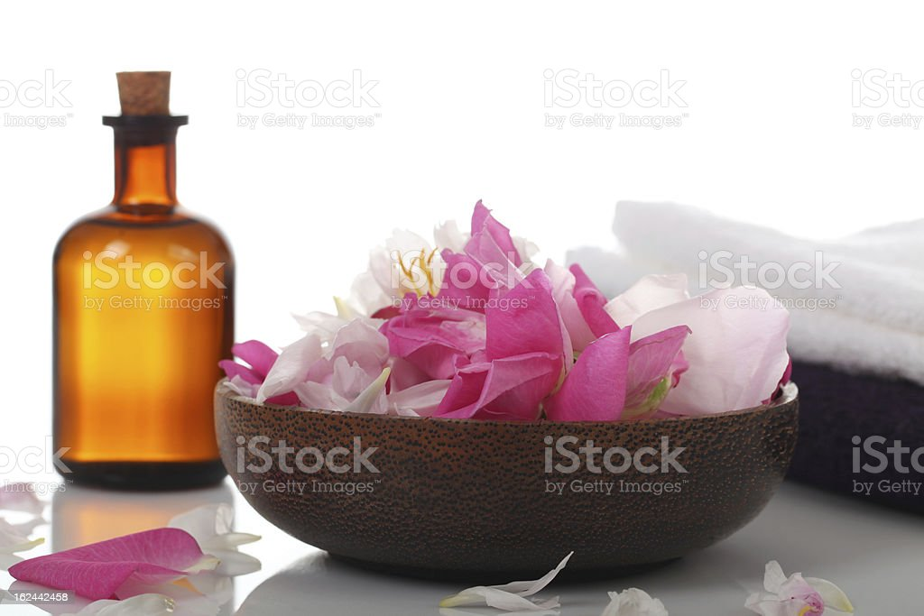 Wellness concept - SPA royalty-free stock photo