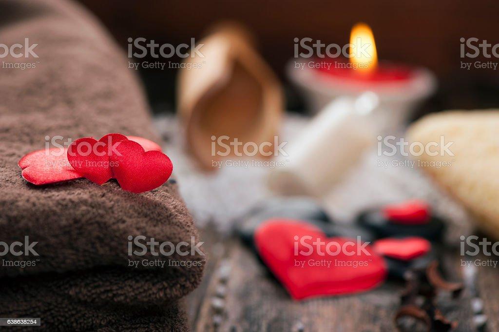 Wellness decoration stock photo