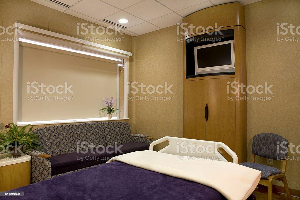 Wellness Hospital Room stock photo