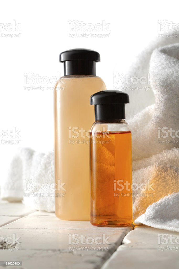 Wellness: Orange Spa Theme royalty-free stock photo