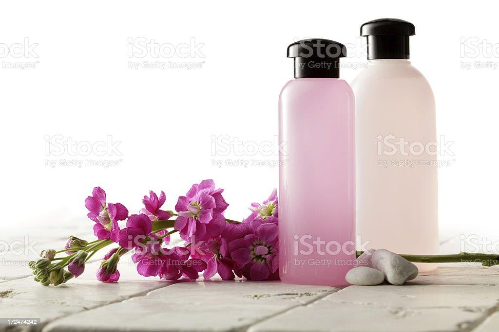 Wellness: Pink Spa Theme royalty-free stock photo