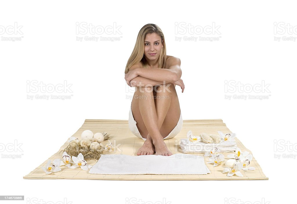 wellness spa concept royalty-free stock photo