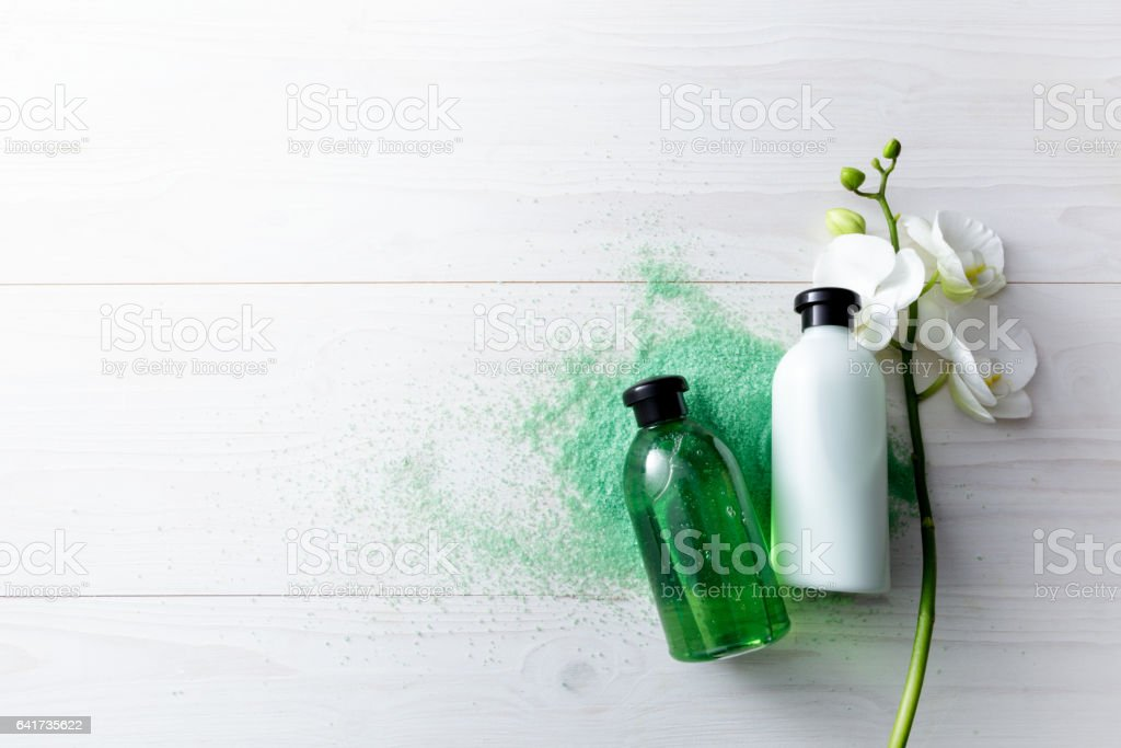 Wellness: Spa Products Still Life stock photo