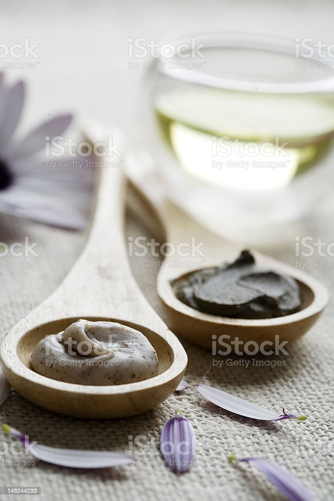wellness therapy products royalty-free stock photo