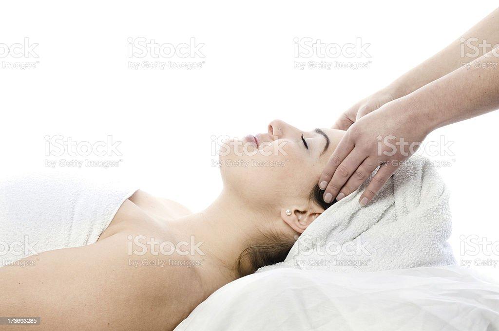 Wellness treatment royalty-free stock photo