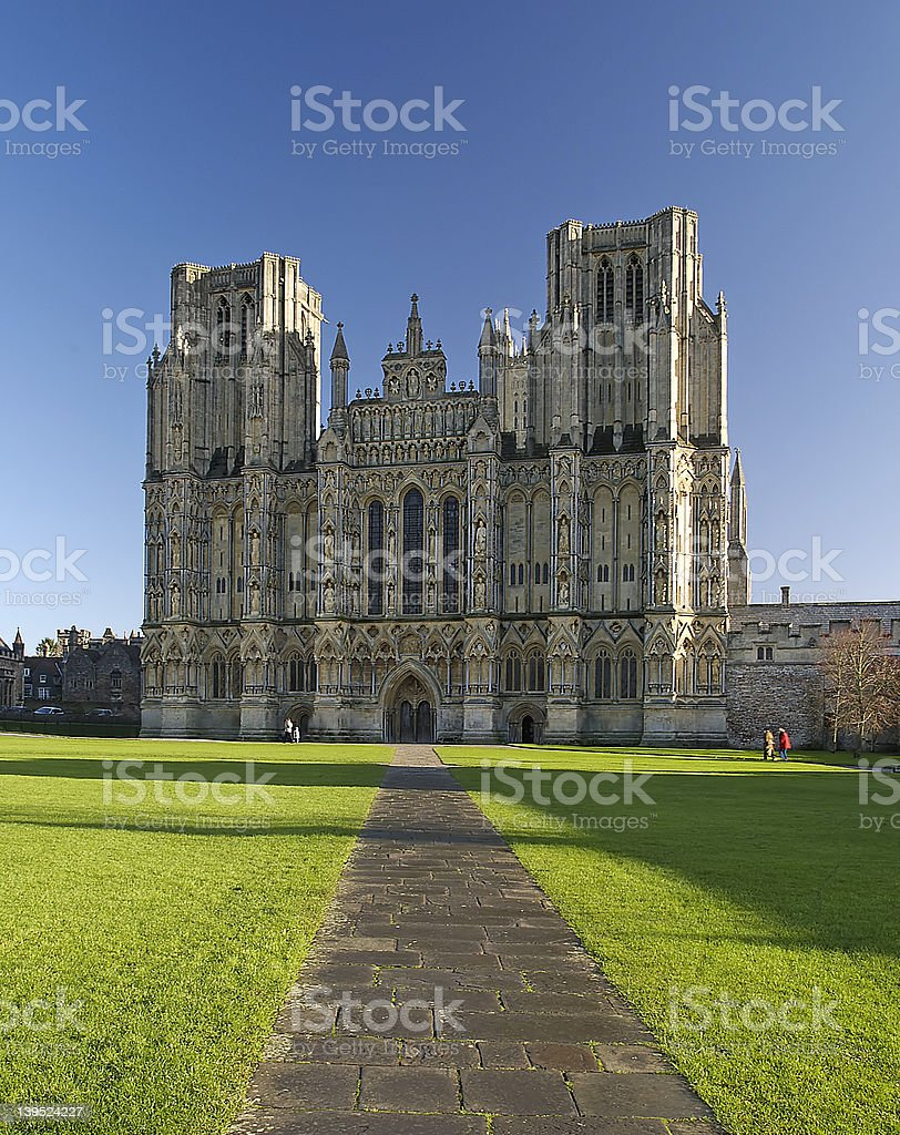 Wells Cathedral royalty-free stock photo