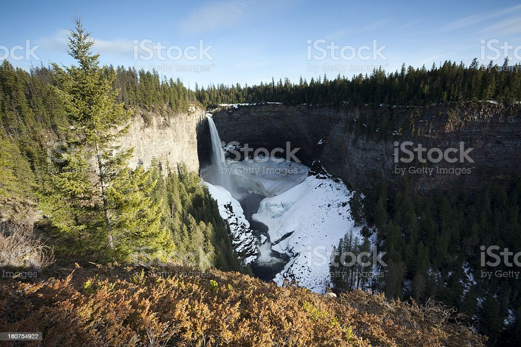 Wells Gray Provincial Park royalty-free stock photo
