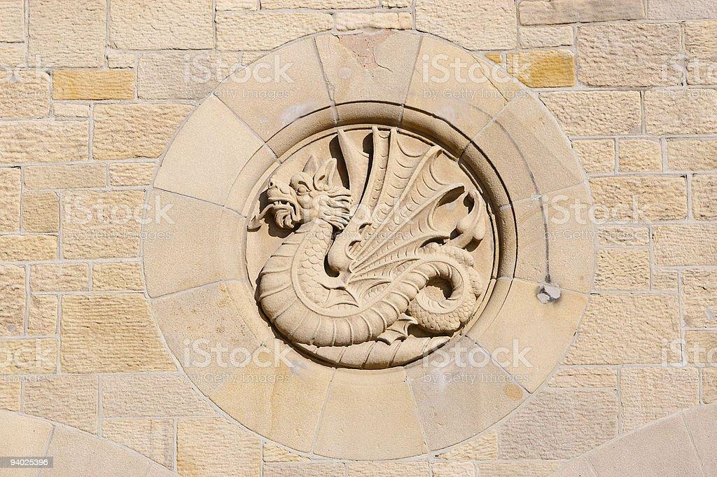 Welsh Dragon royalty-free stock photo