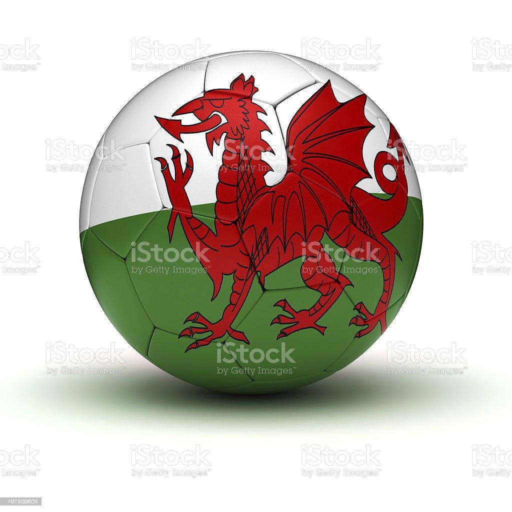 Welsh Football royalty-free stock photo