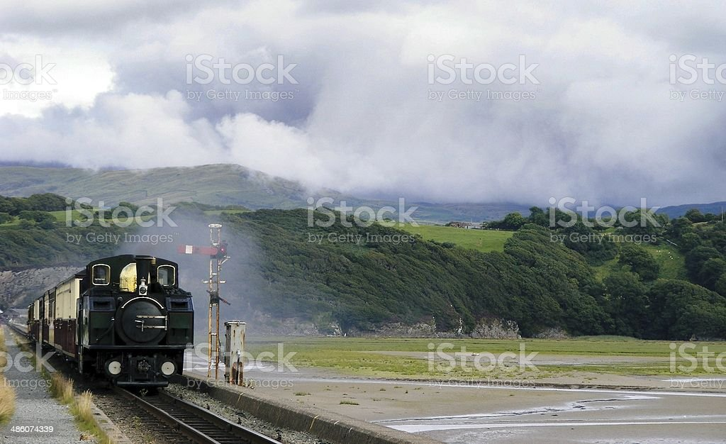 Welsh Steam stock photo