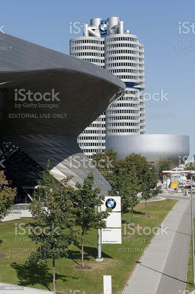 BMW Welt in Munich stock photo
