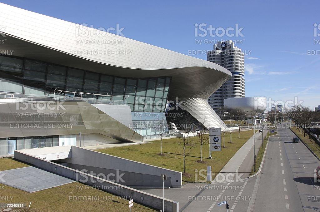 BMW Welt in Munich royalty-free stock photo