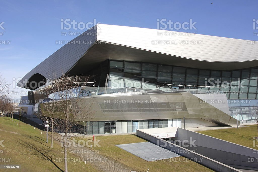 BMW Welt in Munich royalty-free stock photo