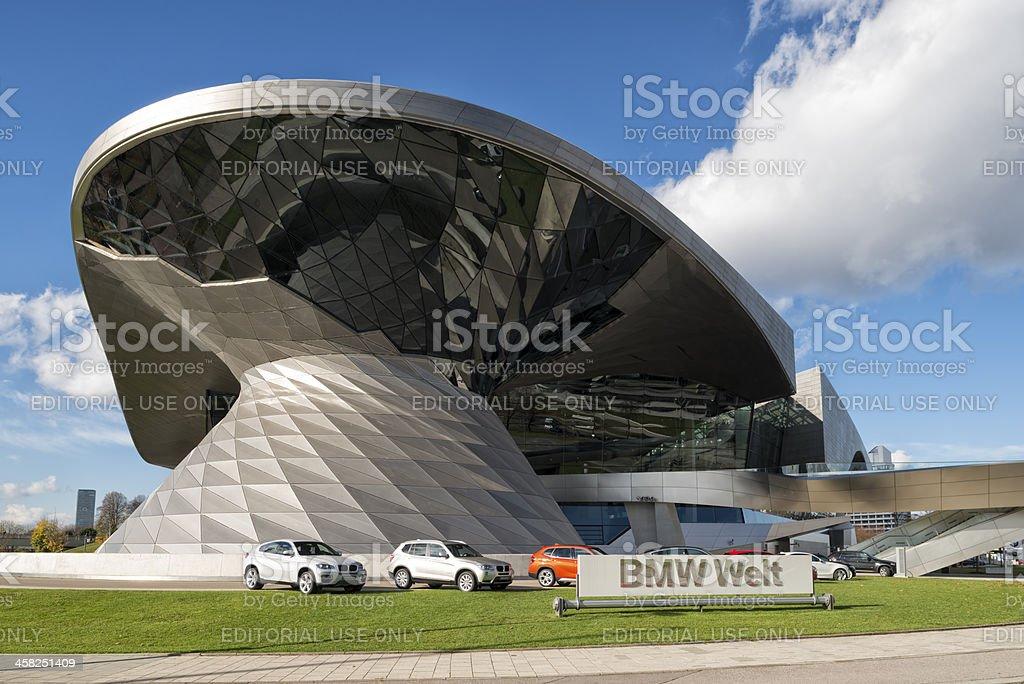 BMW Welt  Munich stock photo
