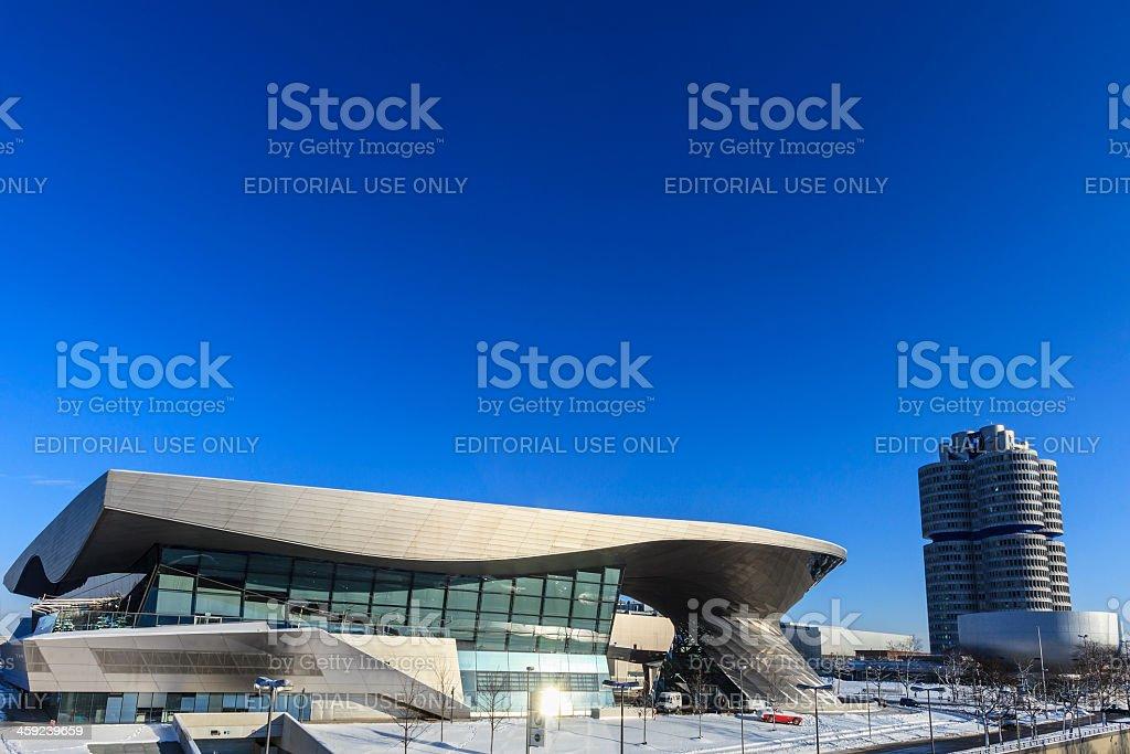 BMW Welt, Munich stock photo