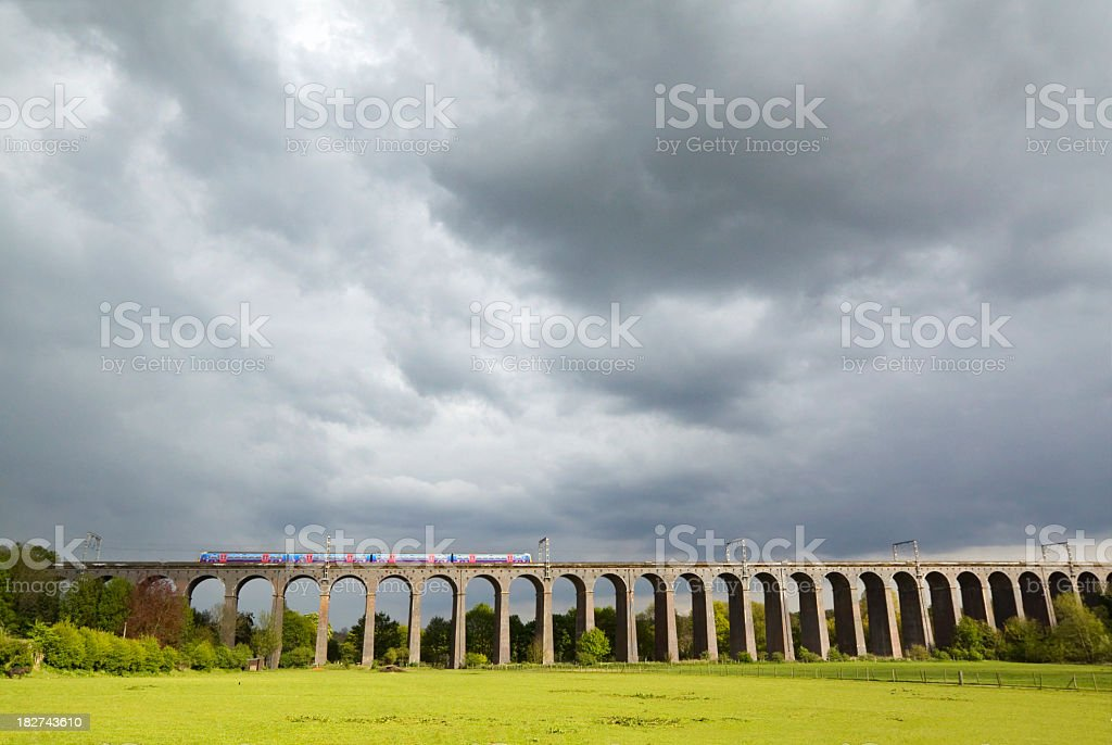 Welwyn Viaduct stock photo