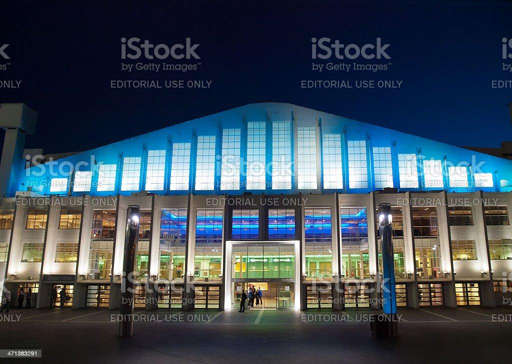 Wembley Arena, London stock photo