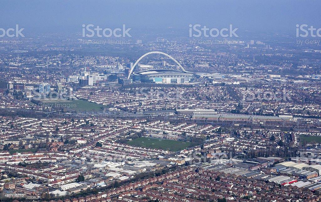 Wembley stock photo