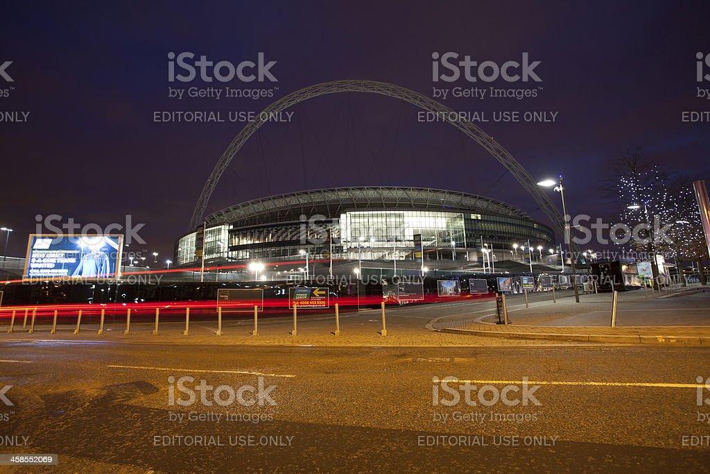 Wembley stadium Arch stock photo