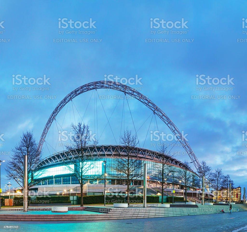 Wembley stadium in London, UK stock photo