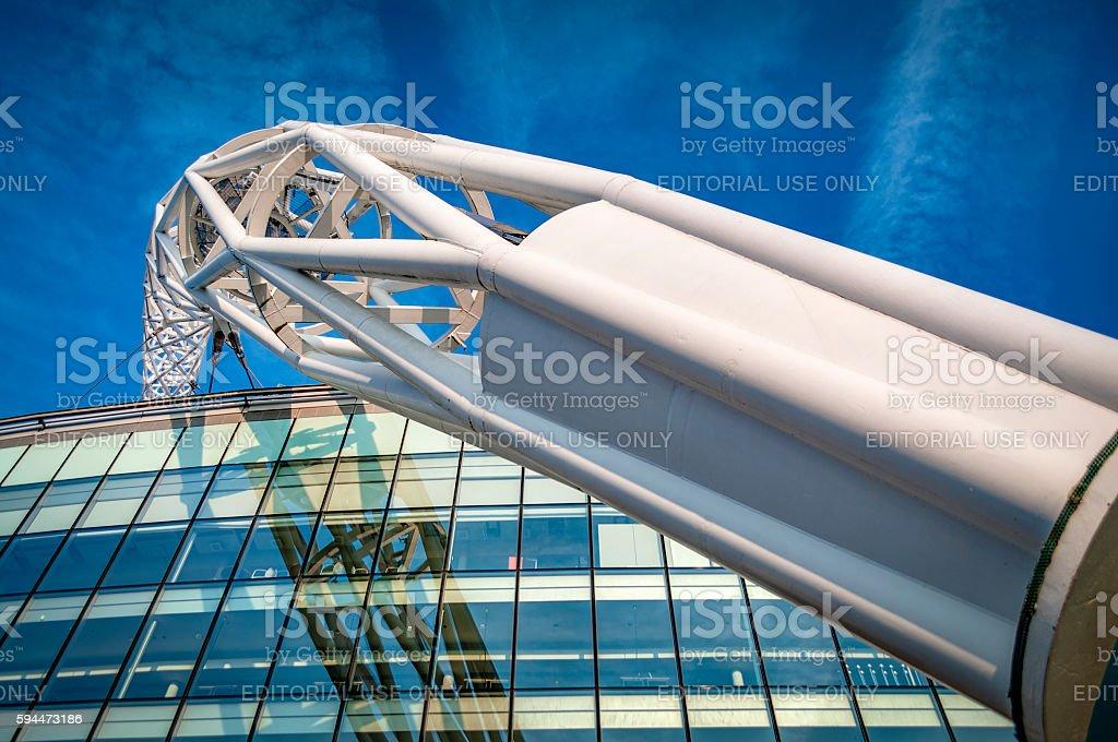 Wembley Stadium is England's national Stadium stock photo