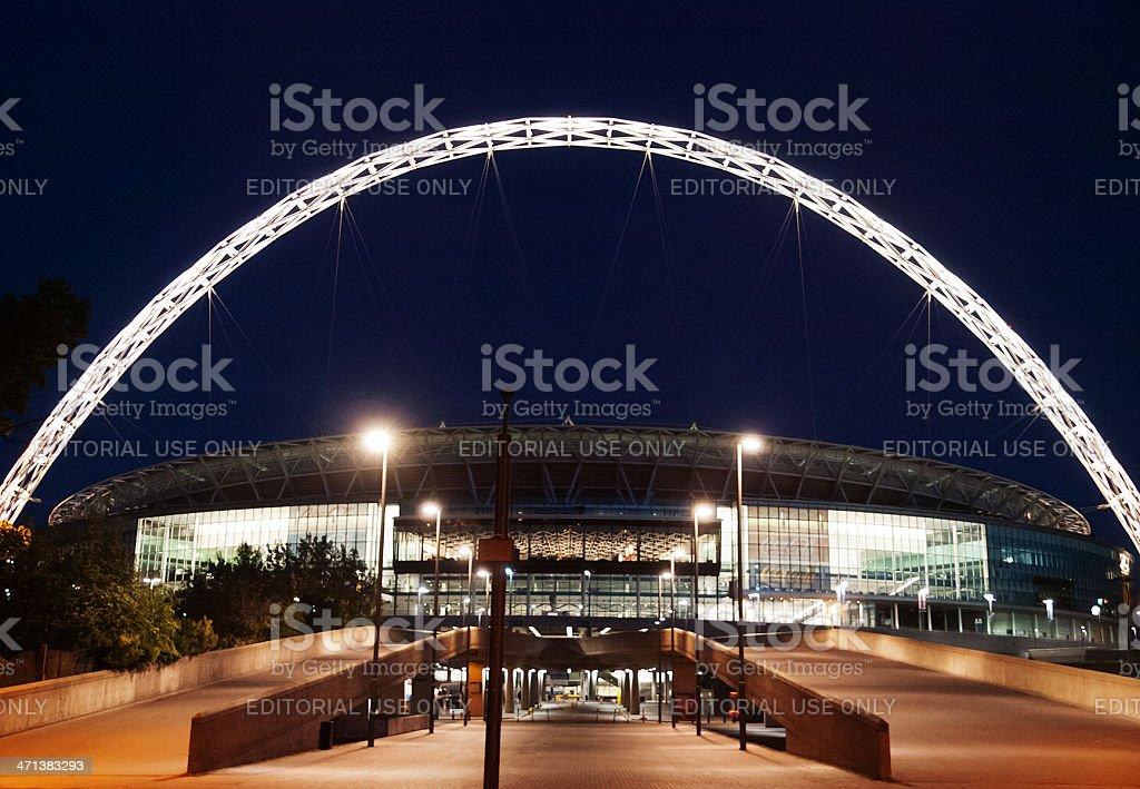 Wembley Stadium, London royalty-free stock photo