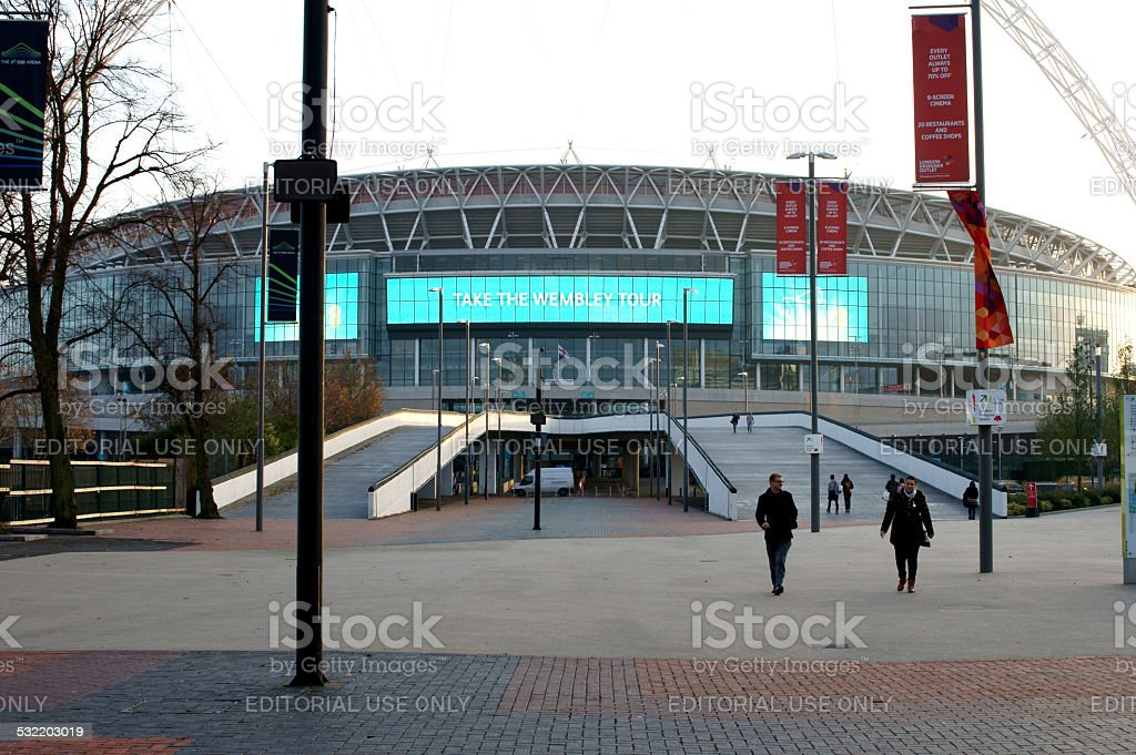 Wembley Stadium stock photo