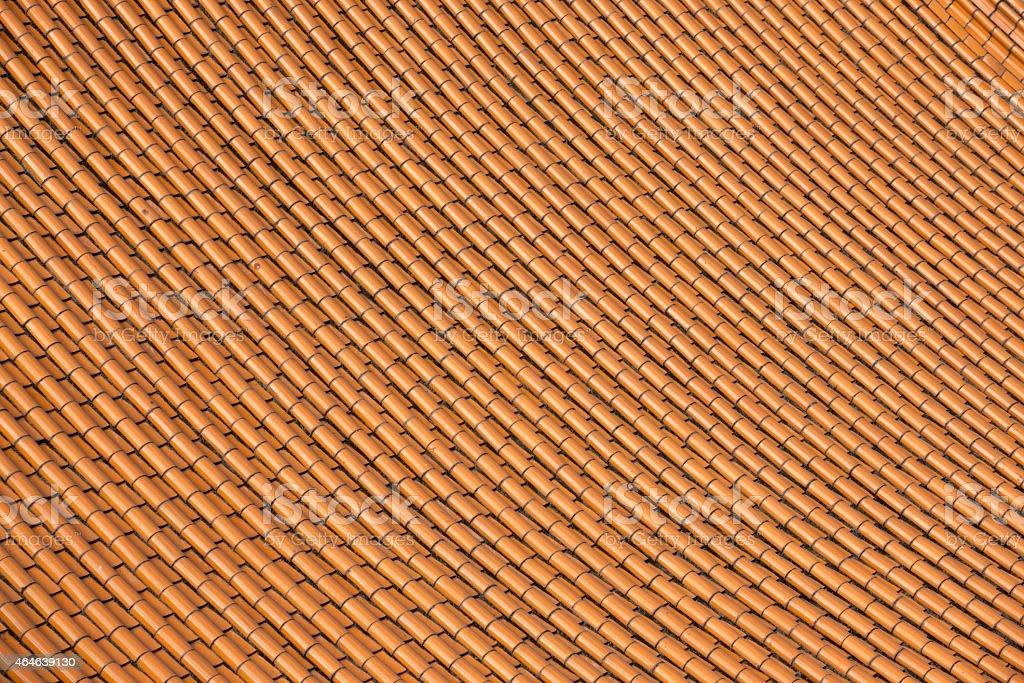 Wen Wu Temple roof tiles, Sun Moon Lake, Taiwan stock photo