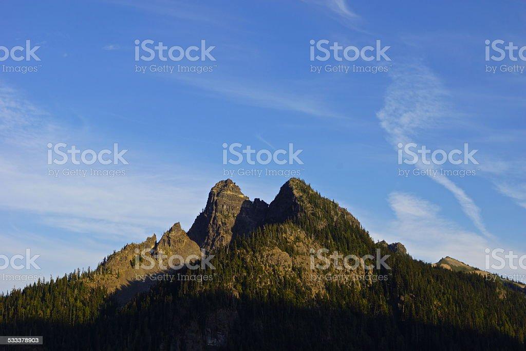 Wenatchee NF Peaks stock photo
