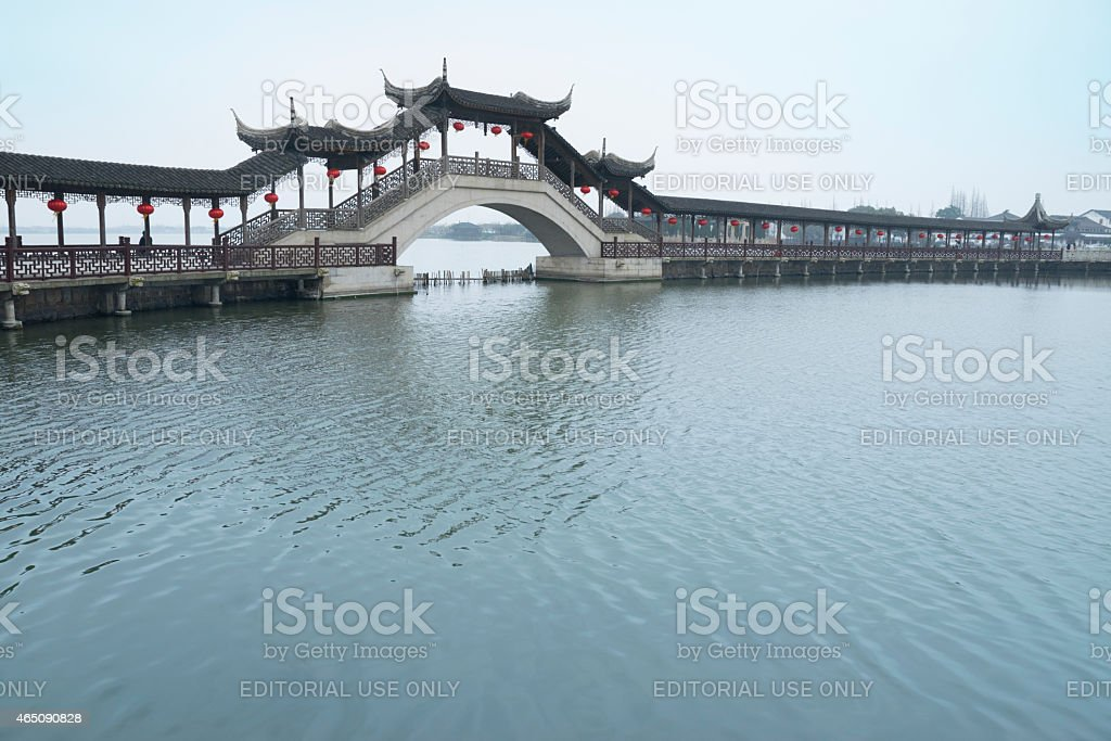Wenchang Pavilion stock photo