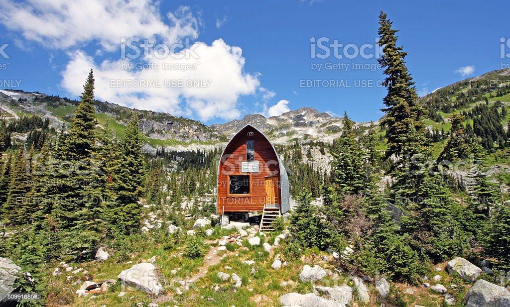 Wendy Thompson Hut. stock photo