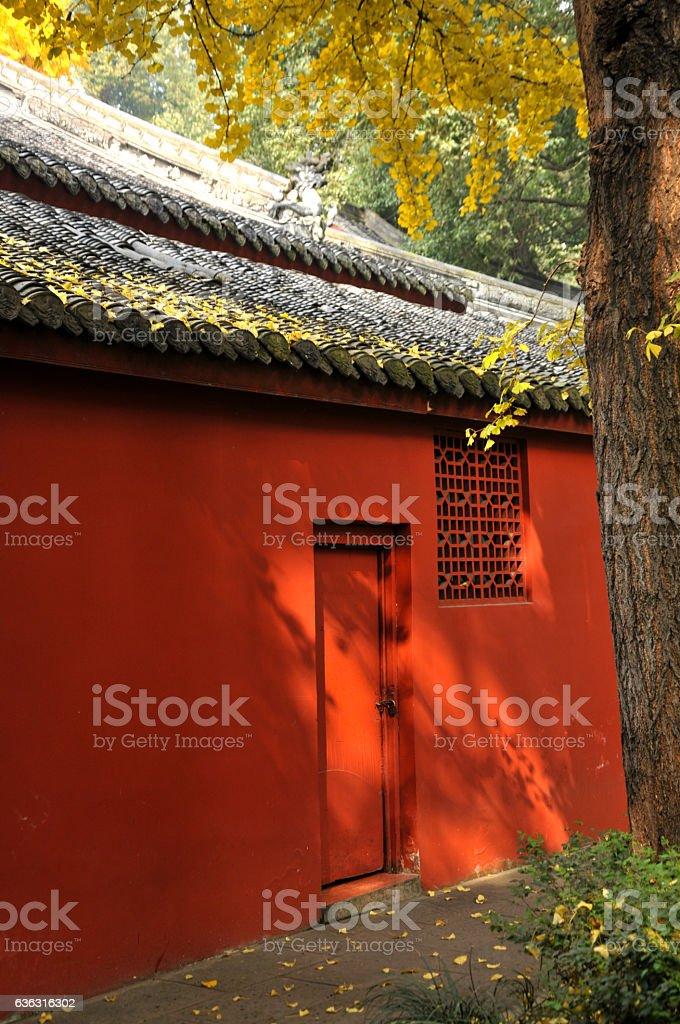 WenShu Monastry Chengdu stock photo